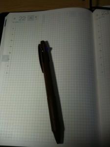 手帳ページ+ペン