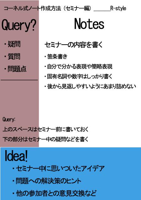 Cornell_Method by R-style arrange