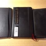 胸ポケットに入れて持ち歩くメモ帳を、3つ試用してみた。