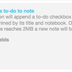 IFTTTを経由して、EvernoteにTodoを追加する
