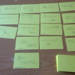情報カードナンバリング法 あるいは新しいデータ